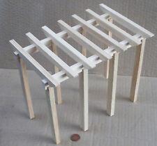 1:12 Scale Wooden Victorian Pergola Kit Tumdee Dolls House Miniature Garden DIY