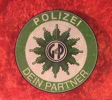 Gewerkschaft der Polizei GdP Hinterglasaufkleber 9cm