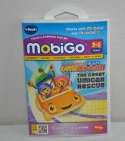 Team Umizoomi The Great Umicar Rescue Vtech MobiGo Learning System Game 3-5yrs