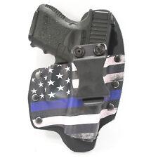 NT Hybrid IWB Holster for Ruger Handguns, Thin Blue Line
