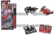 Transformers Siege War for Cybertron Micromaster Spy Patrol Laserbeak Ravage New