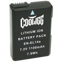 Cooligg Battery for Nikon EN-EL14a D3100 D3200 D3300 D3400 D5100 D5200 D5300