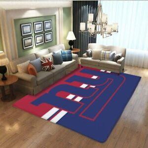 New York Giants Area Rug Anti-Skid Rugs Home Floor Decor Mat Carpet Many Sizes