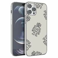 For Apple iPhone 12 Pro Max Silicone Case Robots Kids Grey - S1915