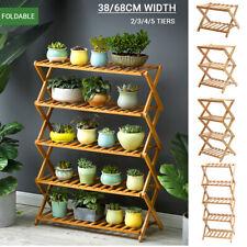 Pot Plant Stand Shelves Flower Rack Display Shelf Garden Indoor Outdoor   -