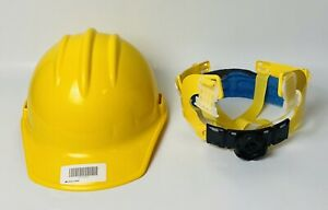 Bullard C30 Classic Slotted Hard Hat/Cap Yellow 6 Point Ratchet Suspension
