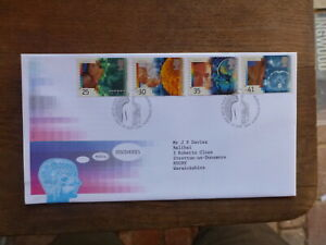 GREAT BRITAIN 1994 MEDICAL DISCOVERIES SET 4 STAMPS FDC FIRST DAY COVER
