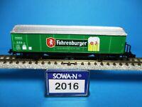 SOWA-N 2016 ÖBB HBis Kühlwagen, Bierwagen Fohrenburger,Neu,OVP,M 1:160