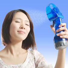 Portable Water Mist Spray Fan Air Cooler Conditioner