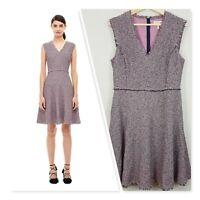 [ REBECCA TAYLOR ] Womens Stretch Tweed Dress NEW | Size AU 12 or US 10