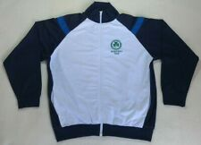 Omonia Nicosia Cyprus Basketball Windbreaker Rare White Roly Jacket Size L Top