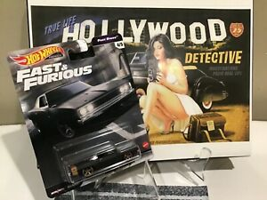 Hot Wheels Fast and Furious Dodge Charger Fast Stars - Black / New