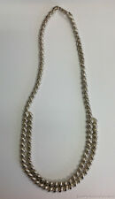 Italy 925 Sterling Silver Estate Ladies Quality Necklace