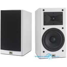 "JBL ARENA 130 WHITE 7"" BOOKSHELF SPEAKER FOR HOME THEATER MUSIC SYSTEMS (PAIR)"