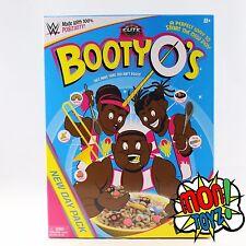 WWE ELITE NEW DAY Mattel WRESTLING FIGURES BOOTY O'S BOX SET 3 PACK LOT NIB