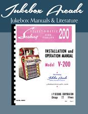 Seeburg V200 Installation and Operation Manual  from Jukebox Arcade
