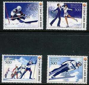 2002. Belarus.Winter Olympic Games,Salt Lake Sc.426-429. MNH
