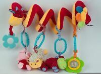 Baby Activity Spiral Hanging Toy for Cots, Pushchairs, Car Seats, Gift, Present