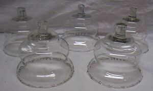 HOME INTERIORS / HOMCO VOTIVE CUPS - 5 CLEAR SHORT ETCHED WHEAT CUPS
