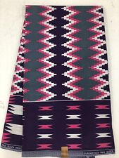 African Kente Prints /African Print Fabric/African Clothing/Purple,Pink
