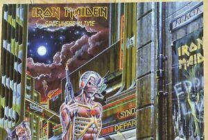 IRON MAIDEN Somewhere In Time LP 180g Vinyl Sealed