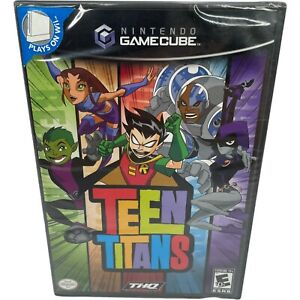 Teen Titans (Nintendo GameCube, 2006) Brand New Factory Sealed