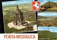 32457 Porta Westfalica  -  Kaiser-Wilhelm-Denkmal - Weserdurchbruch  -  1965