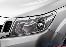 New Genuine Nissan Navara D23 NP300 Headlight Protectors Part B6300-4KE0AAU