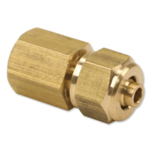VIAIR 92838 1/8in Female NPT to 1/4in Compression Fitting (for 1/4in Air Line)