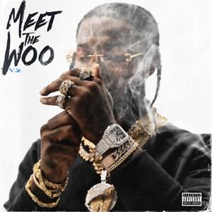 "Pop Smoke ""Meet the Woo 2"" Art Music Album Poster HD Print 12"" 16"" 20"" 24"" Sizes"