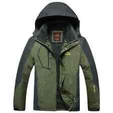 Men Waterproof Windbreaker Hooded Jackets Sportswear Military Tactical Coat 9XL