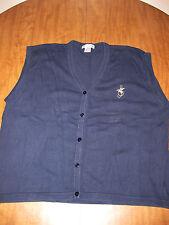 MUNSINGWEAR sweater vest 2XL embroidery 1980s hummingbird XXL Penguin OG