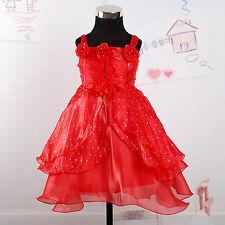 Per Bambina Da Festa Damigella Matrimonio Vestito Paggetto da 3M-18M