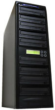 8 Burner 24X CD DVD Disc Duplicator Copier Multi Dual Layer Standalone Recorder