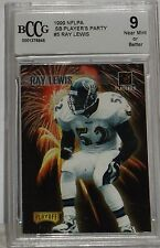 RAY LEWIS 1999 NFLPA SB PLAYERS PARTY #5  9 NEAR MINT OR BETTER BY BCCG