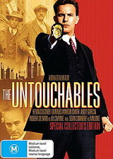 THE UNTOUCHABLES - BRAND NEW & SEALED R4 DVD (COSTNER, GARCIA, DE NIRO, CONNERY)