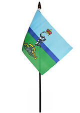 ROYAL SIGNAL CORPS flag PACK OF TEN SMALL HAND WAVING FLAGS BRITISH ARMY