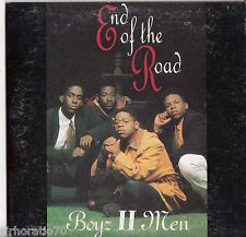 BOYZ II  MEN End Of The Road CD Single / Card Sleeve