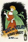French Tonic Wine Decoration POSTER.Home wall.Bar Decor.Art Neauveau.206