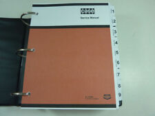 Case W18/W20/W20B Loader Service Manual Repair Shop Book NEW with Binder