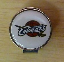 "Cleveland Cavaliers 1"" Golf Ball Marker with Hat Clip NBA Officially Licensed"