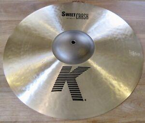 "Zildjian 19"" K Sweet Crash Cymbal - K0705"