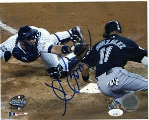 ALEX GONZALEZ SINGLE SIGNED 8X10 PHOTO JSA COA AUTO AUTOGRAPH FLORIDA MARLINS