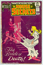 HOUSE OF SECRETS #95 GD-VG NICK CARDY COVER CLASSIC BRONZE AGE HORROR 1972
