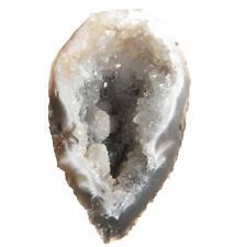 Quartz & Agate OCO Occo OCHO Geode Half  DRUZY Crystal X983