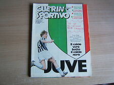 GUERIN SPORTIVO=N°17 1986 LXXIV=POSTER INTER 85/86 =REAL MADRID -INTER 5-1