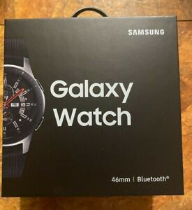 BRAND NEW Samsung Galaxy Watch 46mm Silver Bluetooth SHIPS SAME DAY