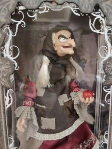 "Disney Store  D23 2017 Snow White Old Hag Limited Edition Doll 17"" Brand New"