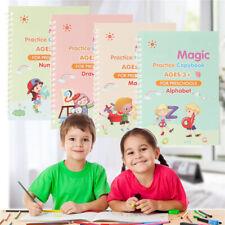 Handwritten Magic Practice Copybook Set disappearing ink pen Kids Learning