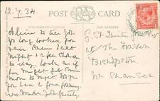 G St. Quintin Jones esq. The Haven, Bishopston, Swansea 1934 -    (QR1462)